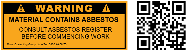 MCG - QR codes as asbestos warning labels